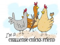 Grab the Challenge Chicks Blinkie